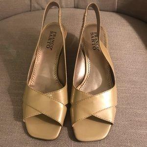 Franco Sarto Open Toe Heels